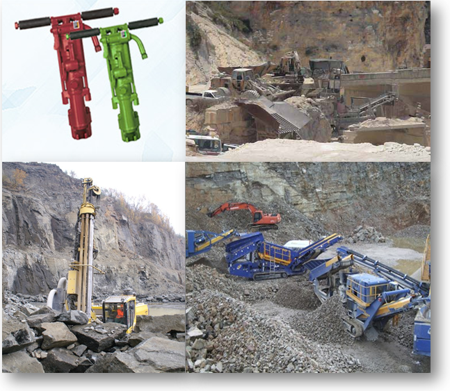 Mining Services for mining Stone, Rock, Basalt, Iron Ore, Bauxite Ore